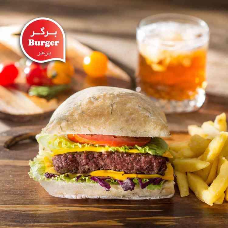 برگر - Burger-750-750