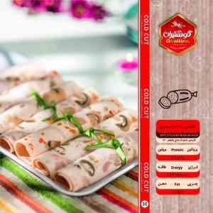 کالباس 60% مرغ و قارچ - 60% Chicken & Mushroom-300-300کالباس 60% مرغ و قارچ - 60% Chicken & Mushroom-300-300
